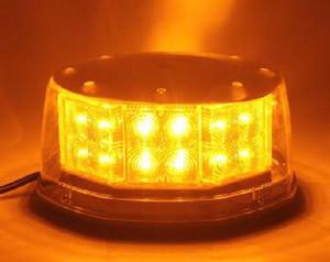Luzes de aviso de carro de alta qualidade 32W, luz de emergência, baliza piscando para polícia, ambulância, caminhão de bombeiros, montagem por magnetics, impermeável