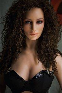 Semi-solido Sexy Sexy Sex Girl Silicone Love Toys Giocattoli gonfiabili Doll Doll Doll da uomo / KFGUD