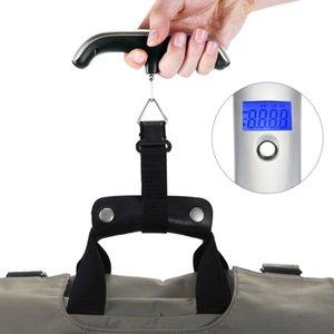LCD Mini Hand Carry Balança Eletrônica 50g - 50kg de Capacidade de Bagagem Dispositivo de Pesagem Digital Suprimentos de Viagem para Casa $ 18 no tracking
