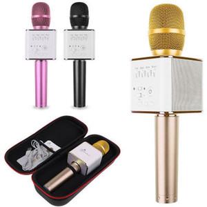 Microfono portatile Q7 Bluetooth KTV magico senza fili con altoparlante Mic Handheld Loudspeaker Karaoke Player portatile per smartphone GRANDE