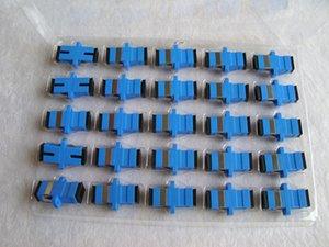 Adaptateur de connecteur à fibre optique de classe opérateur en gros SC / UPC SM à bride monomode simplex SC-SC Coupler 400pcs / lots