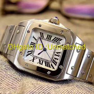 Лучшие роскошные часы высокого качества 316 ремешок из нержавеющей стали римское слово кварцевые женские Наручные часы квадратная мода спортивные мужские часы
