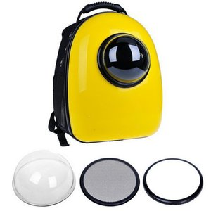 Pet Carrier Backpack Space Capsule con burbuja para gatos y perros pequeños Paquete de espacio para mascotas Portadores Bolsa para mascotas