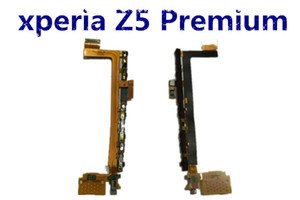 Test Passed For Sony Xperia Z5 Premium Power Volume On Off Switch Button Main Vibrator Microphone Flex Cable Replacement parts Free Shipping