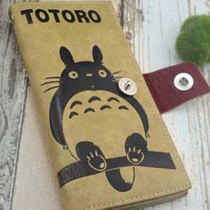 FlyingTown NEW Miyazaki my neighbor Big Totoro Wallet Ghibli PU wallet PU anime action Peripherals long purse gifts women