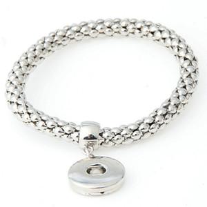 Braccialetti con bottone a pressione per donne Noosa Snap Charms Bracciale intercambiabile in metallo da 20 mm Noosa Snap Jewelry