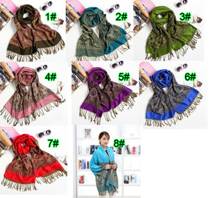 10PCS autumn winter new fashion woman National Cotton and linen tassel scarf ladies keep warm scarf sunscreen 180cm 8colors free shipping