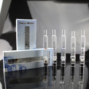 Hot Pyrex Glass Shisha Zerstäuber Tanks Vaporizer Dry Herb Wachs Stift Wasserfilter Rohr Ecig e Cig Zigarette Bongs Dhl-freies Verschiffen