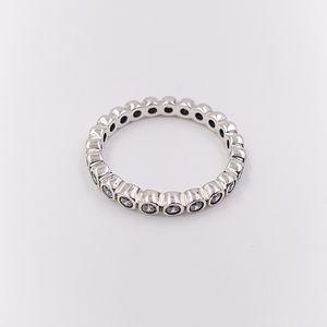 Authentische 925 Sterling Silber Ringe Verführerisch Brillantring Passend Europäische Pandora Style Schmuck 190942CZ