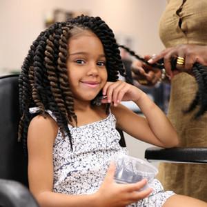 땋은 머리 벌크 아프로 킨키 헤어 하브 나 맘보 트위스트 세네갈 말리 브레이드 30cm 12 인치 100 % 12Roots / Set Kanekalon Hair Pieces Extensions