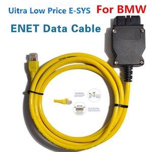 Alta qualidade ESYS 3.23.4V50.3 cabo de dados para a BMW ENET Ethernet para OBDII 2 Data Interface ESYS ICOM Codificação de F-serie Frete grátis