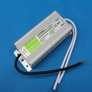 60W LED ضوء سائق ثابت محولات الجهد للماء IP67 التيار الكهربائي الكامل الجهد 12V DC 24V
