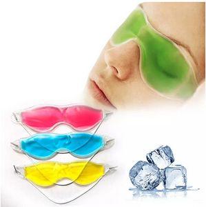 E Women Essential Beauty Ice Goggles Remove Dark Circles Relieve Eye Fatigue eyemask Gel Eye Masks collagen eye mask patch
