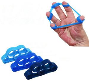 Resistência da mão Banda Exercitadores de Ioga Dedo Maca Exercitador Aperto Força Pulso Exercício Dedo Trainer 3 Cor