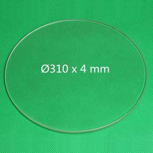 Бесплатная доставка 3d-принтер Боросиликатное стекло Круглый 310 мм х 4 мм.