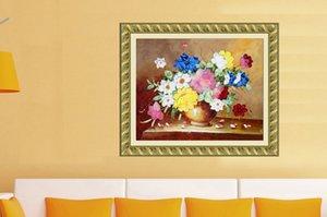 Новое Прибытие 3D Печатные Незавершенные Ленты Наборы для Вышивания Рукоделие Наборы для Вышивания Рукоделия, Многоцветная ваза