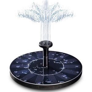 태양 물 분수 펌프 플로팅 워터 펌프 7V / 1.4W 태양 전지 패널 정원 정원 물 전원 분수 풀 정원 파티오 연못 폭포