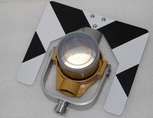 Varejo / Atacado Nova Marca de Metal Prism Único Com saco Para Topcon Sokkia Estação Total Prisma constante = 0 / -30mm Frete Grátis
