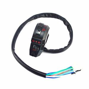 Moto controllo alta / bassa fiato Indicatore di direzione corno sinistro interruttore Dirt Bike