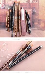 Instrument de flûte professionnel jouant de la flûte en bambou amer pour débutants