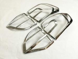 Para 2015 Lámpara de cola Ford Everest ABS cromo cuadro de iluminación cubierta de la caja ajuste de la cubierta trasera después de la irradiación del coche que labra los accesorios