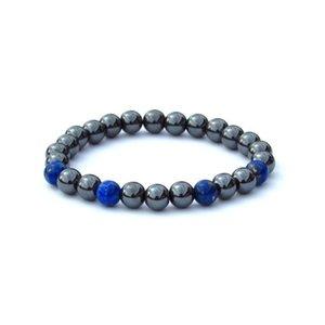 SN0132 New Arrivals Hematite Mens Bracelet Tribal lapis lazuli Bracelet Wholesale free shipping