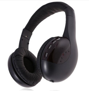 Estilo de negócios Fone De Ouvido Fone De Ouvido MH2001 5 em 1 Esportes Sem Fio Hi-Fi Fone De Ouvido Para Rádio FM Monitor de Chat Com Fio fone de Ouvido
