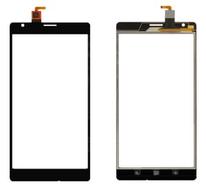 Touchscreen Digitizer Glass Panel Front Glass Lens Sensor for Nokia 1520 Lumia with Logo Free shipping+tools