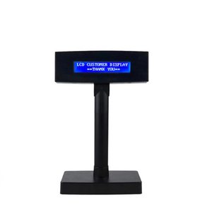 LCD210B Caracteres Pequenos Display LCD Para Monitor de Preço de Registro POS Branco-Azul Colorido Exibição Do Cliente