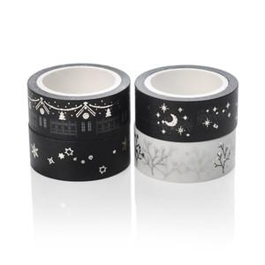 Envío al por mayor-libre 8 pedazos / porción de oro y cinta DIY washi tape