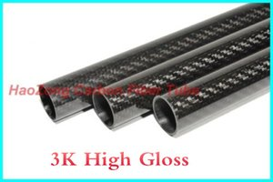 1-10 pcs 36MM OD x 34MM ID x 1000MM (1m) 100% Roll 3k Carbon Fiber tube   Tubing shaft, wing tube Quadcopter arm Hexrcopter 36*34