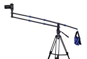 Mini cámara portátil de fibra de carbono Crane Jib Arm Crane solo extensión de 1,8 kg 2 m