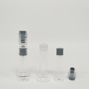 Transpring 1 ML Luer Lock Luer Kopf Glasspritze Für Ölwagen Klar Farbe Injektor 100 Stücke Lot Freies Verschiffen