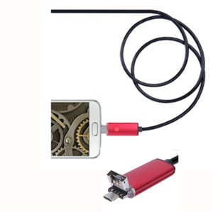 2in1 8mm لالروبوت OTG Mobile Endoscope Camera