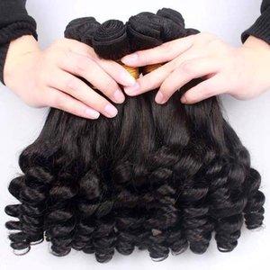 브라질 머리카락 몽골 말레이시아 브라질 인도 페루 Funmi Hair 100 % 처리되지 않은 Virgin 인간 머리카락 직물 무료 배송 최고 품질