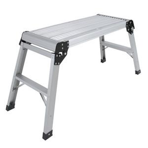 A plataforma de alumínio Drywall intensifica a escada de dobramento do banco de trabalho