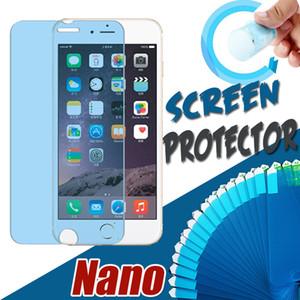 Nano Взрывозащищенные мембрана Мягкий протектор экрана Защитная пленка для iPhone 12 Pro Max 11 XS XR X 8 7 6 6S Plus SE 2020