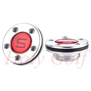 El envío libre para 2012 Estilo Squareback fastback Red Golf Putter Pesos tornillos un par de 5g-40g