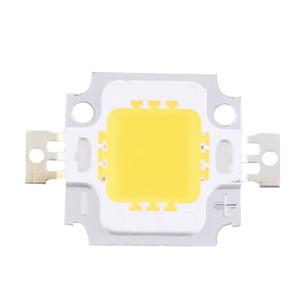 DIY-Flood ışık Spotlight için Toptan-2pcs 10W Yüksek Güç Entegre LED lamba Boncuk Cips SMD Ampul Sıcak Beyaz