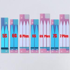 100 UNIDS Nuevo Pegamento Adhesivo de La Batería de Repuesto para iPhone 7 7 Más 6 S 6 S Más Pegatina de la Tira de Cinta Para iPhone 6 5S 6 Más 5 5C 4 4S Etiqueta
