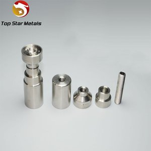 Grade2 Titanium OMNI NAIL - Universal Domeless 14-18mm Male & Femlae adjustable