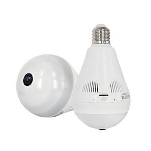 Bombilla de luz sin hilos de la cámara IP HD 960P Wi-Fi FishEye cámara panorámica de 360 grados completo Ver Mini CCTV cámara de seguridad Inicio de la videocámara