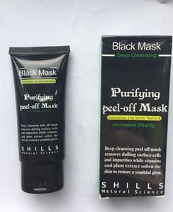 Shills más nuevo Peel-off Máscaras de limpieza profunda negro MÁSCARA 50 ML Máscara facial de Blackhead precio al por mayor de grandsky