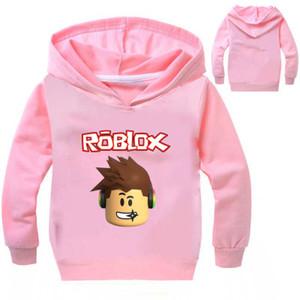 Футболка ROBLOX мальчики одежда дети футболка Enfant Garcon с длинным рукавом футболка толстовки толстовка одежда