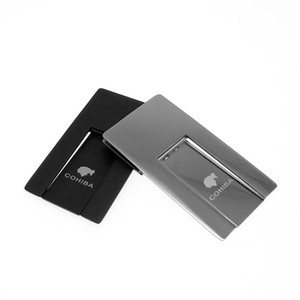 Novelty Style COHIBA Practical Gadgets Silver High Quality Stainless Steel Foldable Stand Showing Portable Cigar Ashtray