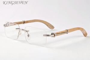 популярные рог буйвола очки для мужчин оригинальные деревянные солнцезащитные очки для женщин прямоугольный черный серый прозрачная линза без оправы приходят с очки коробка