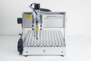 Proveedor profesional para cnc piedra plástico cnc máquina de grabado, modelo de venta caliente 3040 800 w rotativa cnc máquina de grabado