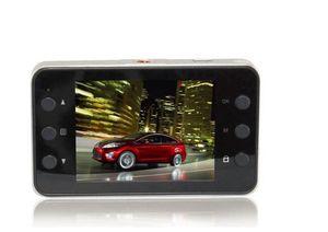 """100 قطع 2.4 """"hd 1080 وعاء سيارة dvr سيارة داش كاميرا فيديو مسجل تاكوغراف g- الاستشعار K6000-l2 الشحن إرسال dhl"""