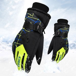 Men's Ski Gloves Snowboard Gloves Snowmobile Motorcycle Riding Winter Windproof Water Repellent women's Gloves