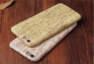 الغلاف TPU الجملة أسلوب جديد فاخر نمط خشبي للiPhone7 7plus حالات الهاتف حالة الخشب الحبوب العودة شل كوكه